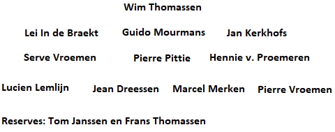 Opstelling 3-3-4